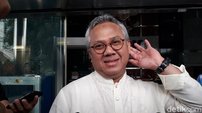 Ketua KPU Arief Budiman (Ilman Nafian/detikcom)