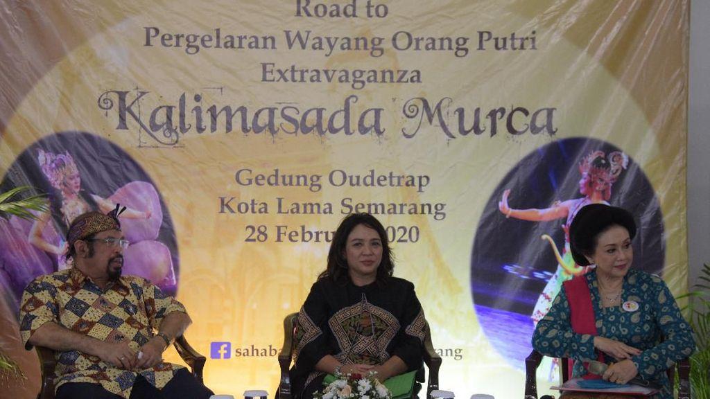 HUT ke-473, Pemkot Semarang Gelar Wayang Orang Putri Extravaganza