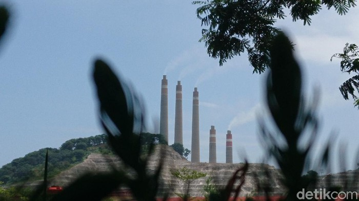 PLTU Suralaya di Cilegon, Banten (M Iqbal/detikcom)