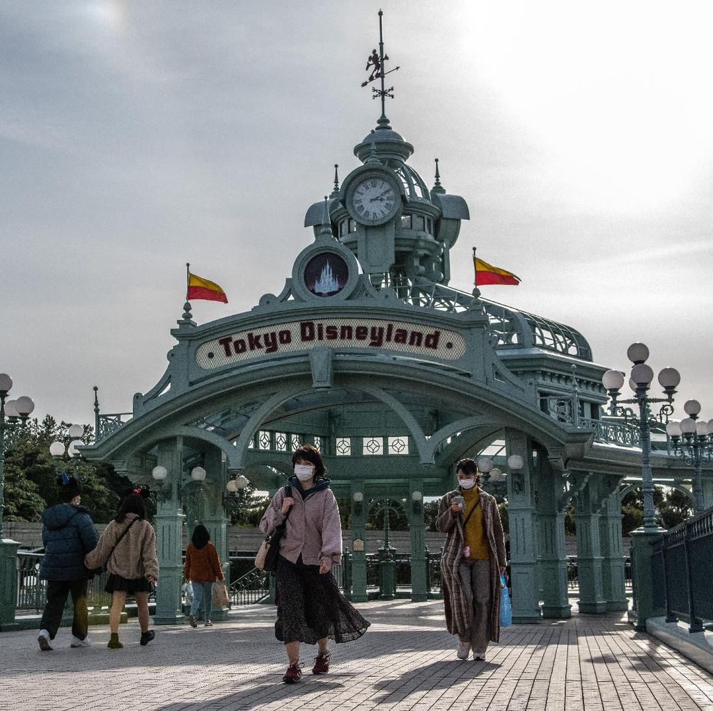 Cegah Virus Corona, Disneyland Tokyo Ditutup Sementara
