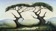 Tes Psikologi: Gambar Wajah atau Pohon yang Pertama Kamu Lihat?
