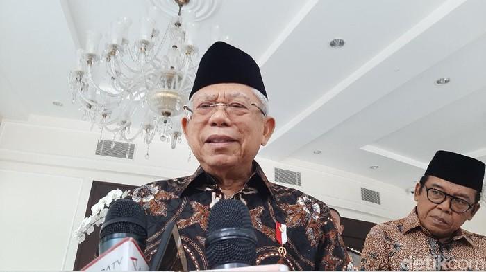 Wapres Maruf Amin (Lisye Sri Rahayu/detikcom)