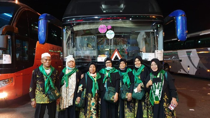 370 Jemaah Umroh Asal Palembang Tiba di Jeddah,