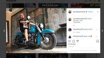 Brum.. Ini Sangarnya Harley Davidson yang Diduduki Ahmad Dhani