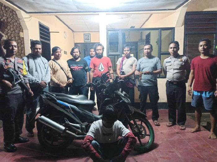 Pelajar pelaku curanmor di NTB ditangkap (dok. Istimewa)