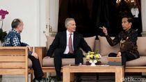 Jokowi, Tony Blair, Orang Terkaya Jepang Bahas Ibu Kota Baru RI