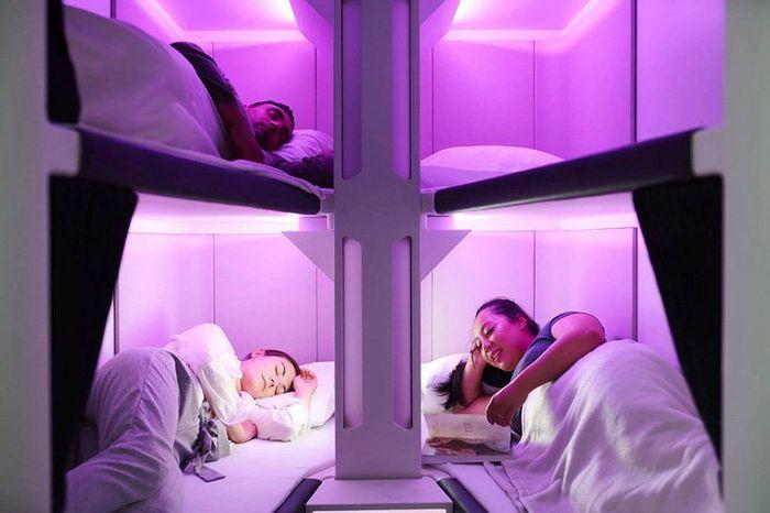 AIr pod di Air New Zealand