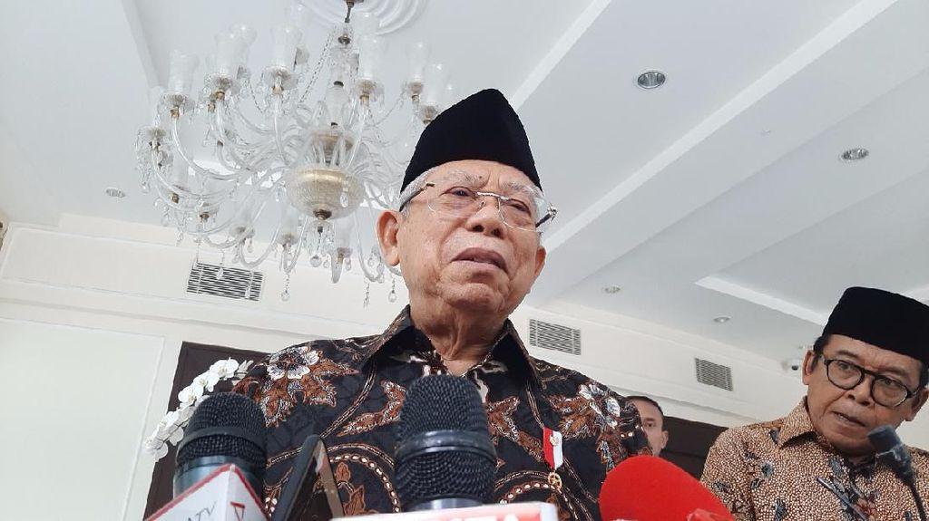 Soal Isu Reshuffle, Maruf: Saya Belum Diberi Tahu