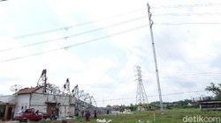 Perbaikan Tower PLN yang Roboh di Rembang Diprediksi Rampung Sebulan