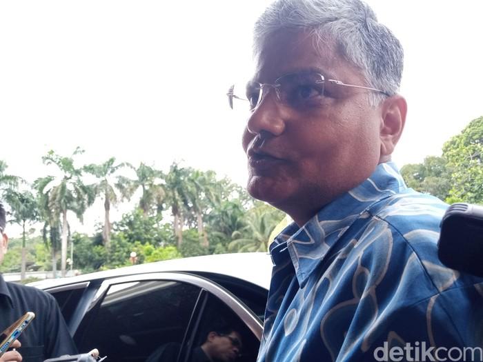 Duta besar India untuk Indonesia Pradeep Kumar Rawat. (Kadek Melda Luxiana/detikcom)