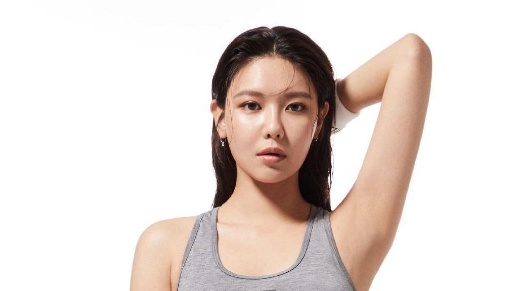 Seksinya Sooyoung SNSD dengan Rambut Basah saat Jadi Model Underwear FILA