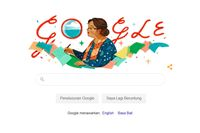 Mengenal NH Dini yang Wajahnya Jadi Google Doodle Hari Ini