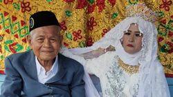 Viral Kakek 103 Tahun di Sulsel Nikahi Gadis Perawan, Begini Ceritanya