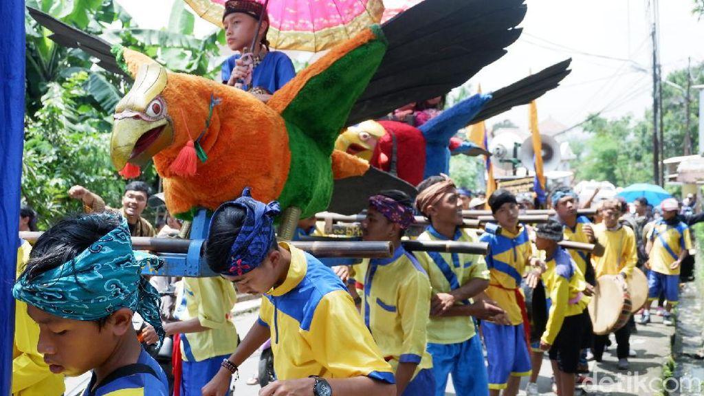 Serunya Festival Budaya Bauran Cap Golak di Bandung