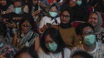 Penonton BNI Java Jazz Ramai-ramai Gunakan Masker