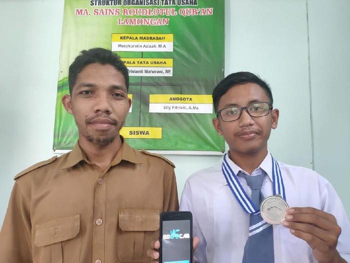 Sepinya penumpang becak di Lamongan memberi inspirasi pada pelajar ini. Ia membuat sebuah aplikasi layanan becak secara online yang disebut Go-cab.