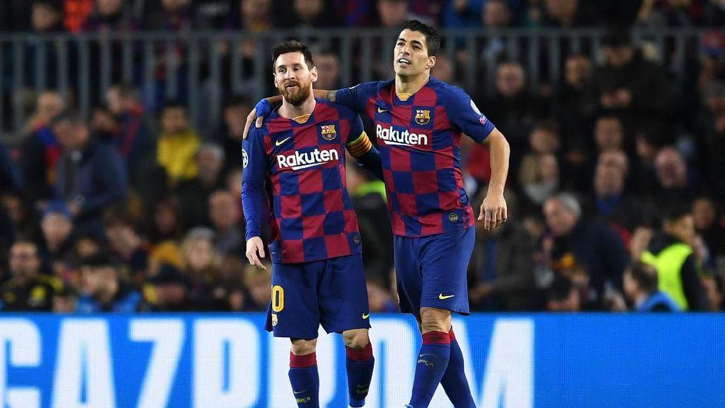 Pesan Penuh Cinta dari Suarez untuk Messi