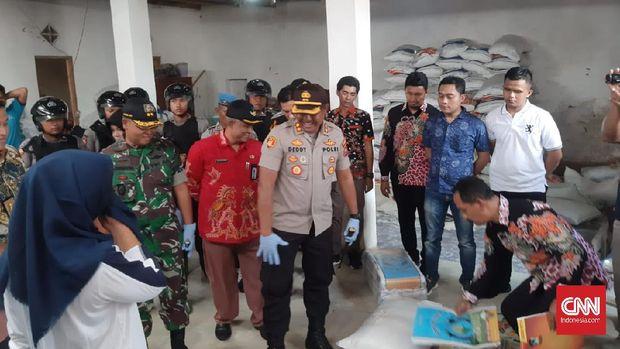 Polisi Gagalkan Penyelundupan 10 Ton Beras Oplosan di Sumenep
