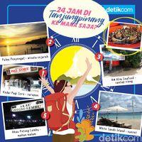24 Jam di Tanjung Pinang ke Mana Saja?