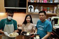 Hanya di Dapur Rumah, Wanita Ini Sukses Jualan Rice Bowl Salmon