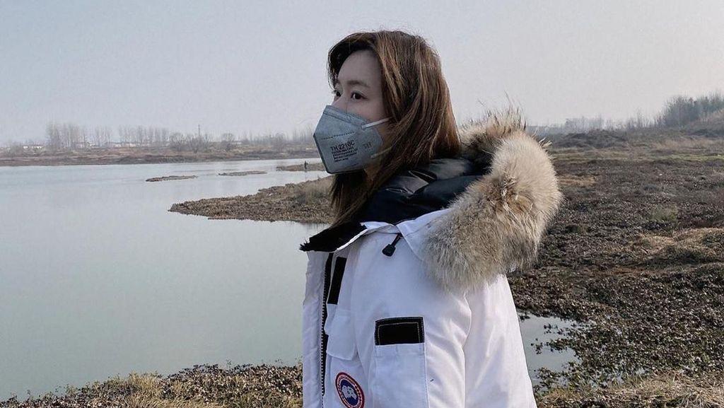 Terjebak di Wuhan Demi Pacar, Model Ini Dokumentasikan Hidupnya di Instagram