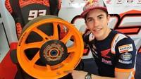 Pelek Bekas Motor MotoGP Marquez Dijual, Siapa Berani Beli?