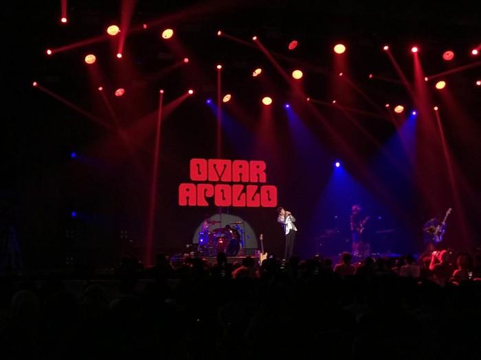 Omar Apollo di BNI Java Jazz 2020