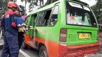 Atasi Kemacetan, Pemkot Bogor Musnahkan Angkot Tua