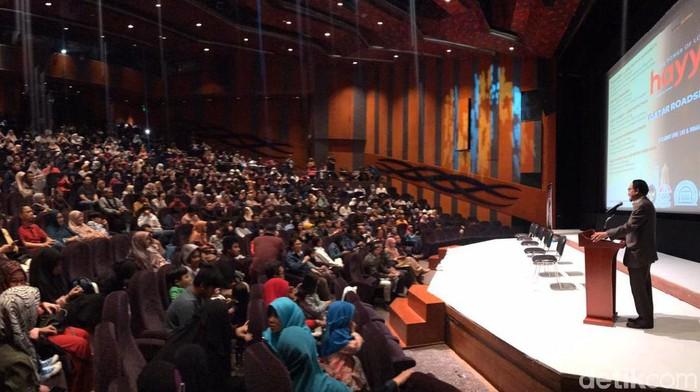 Nobar Film Indonesia Hayya Bareng 500 WNI