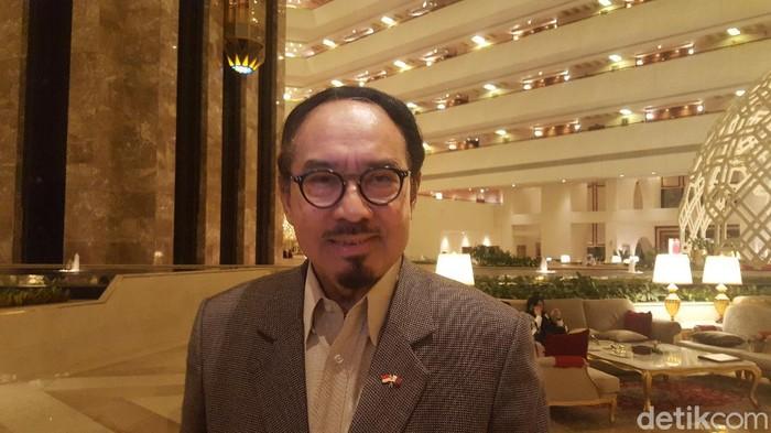 Duta Besar Indonesia untuk Qatar, M Basri Sidehabi.