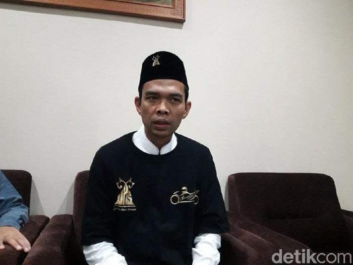 Ustaz Abdul Somad (Muhammad Ilman Nafian/detikcom)