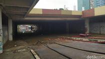 Ketinggian Air Banjir Underpas Kemayoran Pagi Ini 50 cm