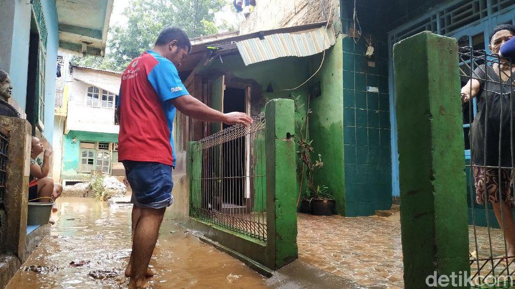 Rawajati Sempat Banjir Tadi Malam, Warga: Tinggi Air Sampai 1 Meter