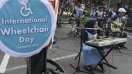 Pentas Musik Ramaikan Acara Hari Kursi Roda Internasional di Solo