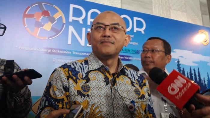 Sekretaris Jenderal Perhubungan Djoko Sasono. (Foto: Rahel Narda/detikcom)
