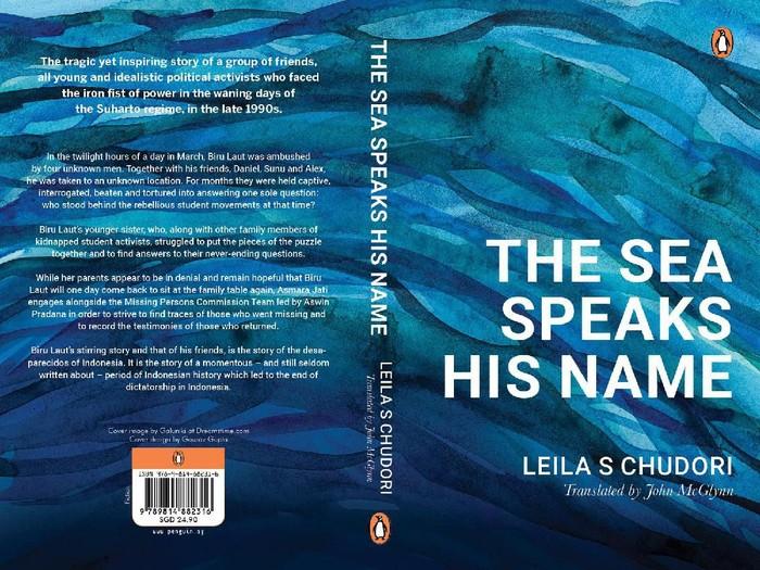 Novel Laut Bercerita versi bahasa Inggris