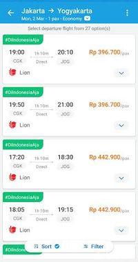 Tagar #DiIndonesiaAja di Traveloka