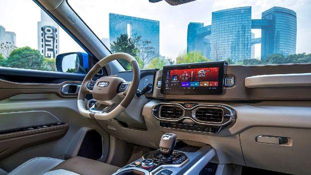 Geely Luncurkan SUV yang Diklaim Bisa Tangkal Corona