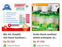 Harga Hand Sanitizer Di Toko Online Meroket