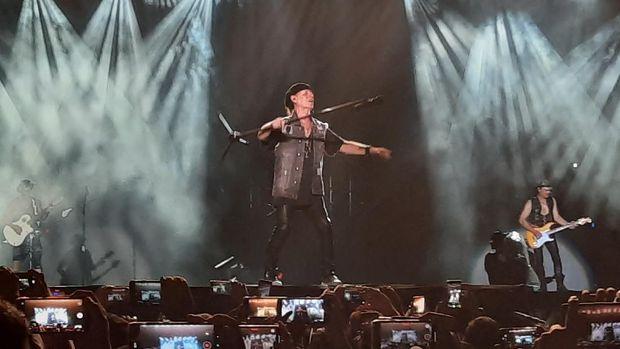Akhiri JogjaROCKarta, Scorpions: Terima Kasih, Yogyakarta!