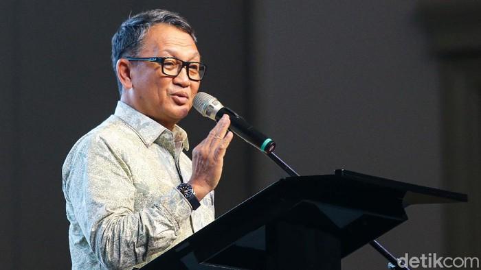 Jakarta Energy Forum 2020 resmi dibuka oleh Menteri ESDM Arifin Tasrif. Acara ini bertema  The Future of Energy.