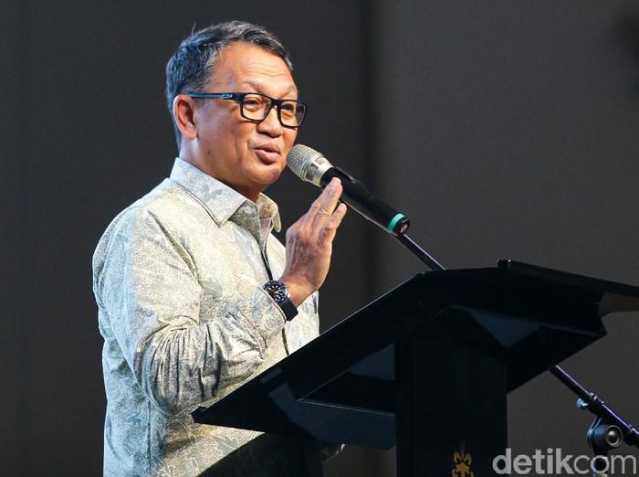 Jakarta Energy Forum 2020 resmi dibuka oleh Menteri ESDM Arifin Tasrif. Acara ini bertema