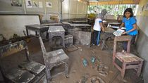 Potret SMPN di Lombok yang Diterjang Banjir