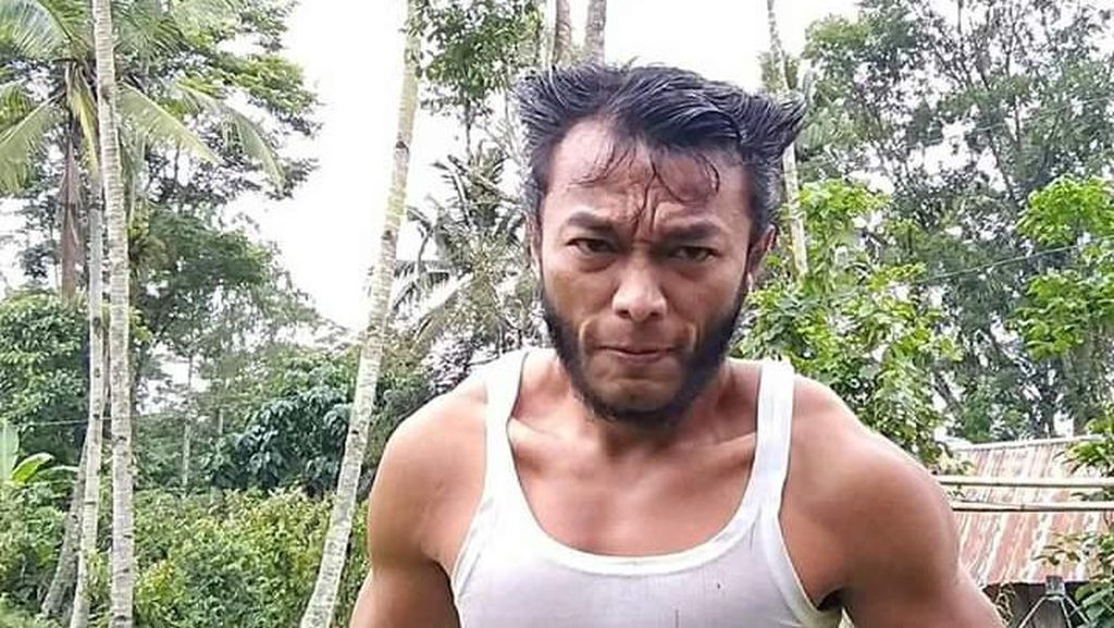 Tak Kenal Hugh Jackman, Wolverine dari Toraja Ngaku Ingin Mirip The Rock