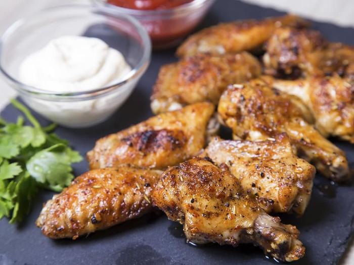 ayam panggang ala restoran