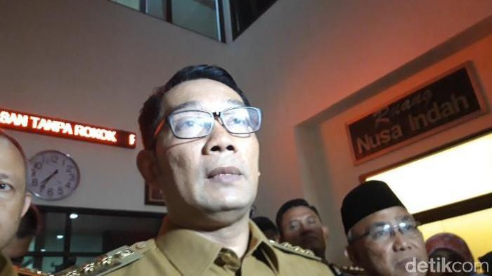 Gubernur Jawa Barat Ridwan Kamil (Rahel Narda/detikcom)