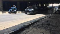 Banjir Surut Total, Underpass Kemayoran Sudah Bisa Dilalui Kendaraan