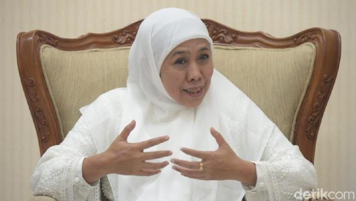 Gubernur Jawa Timur Khofifah
