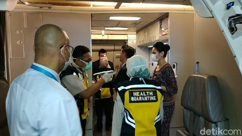 Thermal Scanner di Bandara Juanda