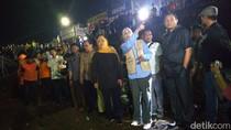 Gubernur Jatim Tinjau Lokasi Ruko Ambruk di Jember Tengah Malam